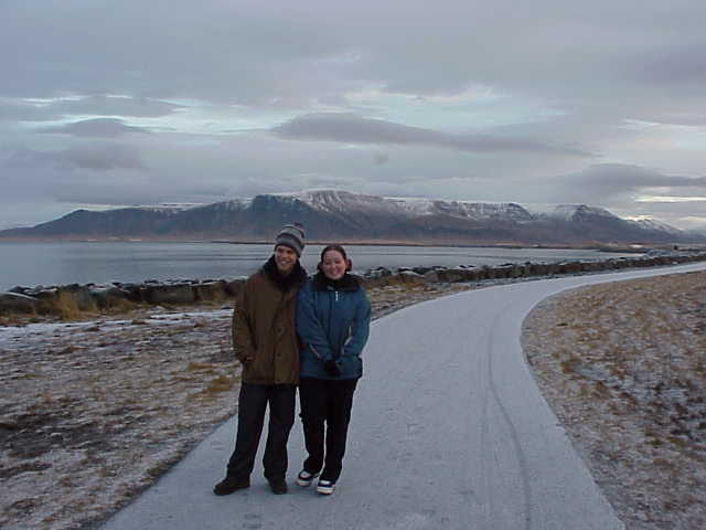 Iceland - Coastline, Miff and Mands shivering.JPG