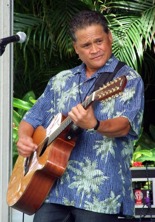 Ron Kuala'au will perform at the Maui Sunday Market on September 29th. Formerly of the group HAPA, he is well-versed as playing solo or as a duo or trio. Playing since the age of 12, music is his passion, and he shares his talents and love for music across the nation and internationally.