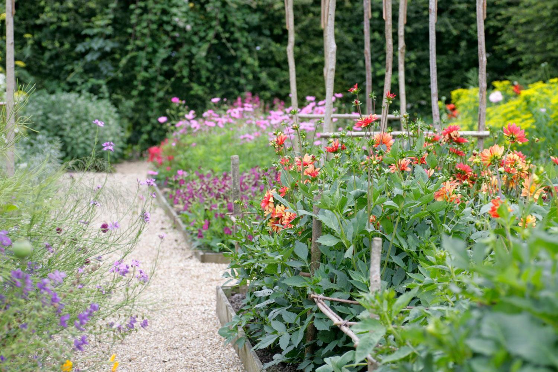 Perch Hill flower garden