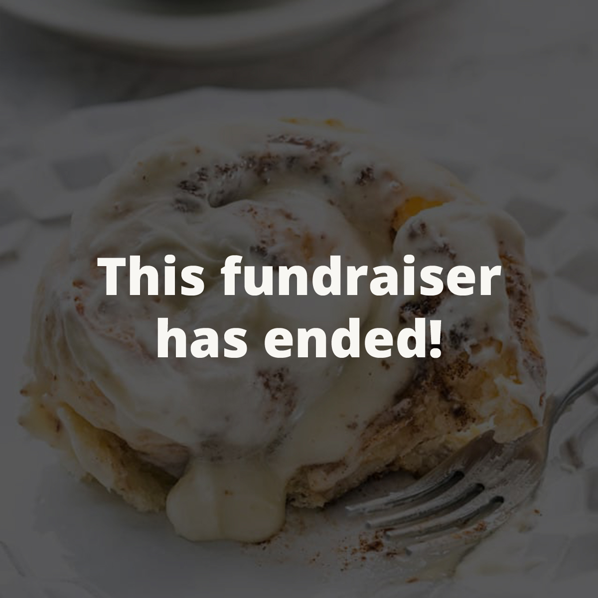 Cinnamon Rolls - Kim sold out for November and December but she will be taking more orders in the new year! Purchase a pan (or 2!) and 100% of your purchase goes to the Robinson family. Stay tuned!