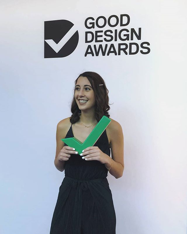 Still buzzing from last night!!! Thank you again @gooddesignaus and all the judges for deeming me a Good Design Award Winner. It's an absolute honour to be amongst some of the most talented designers and companies in the country.  @utsengage @utsdab #gooddesignawards #gooddesignaward #gooddesignaustralia #design #designer #productdesign #productdesigner