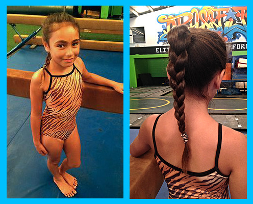 Gymnastics Dress Code - ATTIRE:GIRLS are expected to wear a leotard or unitard WITHOUT an attached skirt. Tight fitting athletic shorts may also be worn.BOYS may wear a singlet or gym shorts and a tucked in T-shirt. We prefer a tight fitting shirt such as under-armor or a rashguard.*Please, NO ZIPPERS, BUTTONS, SNAPS, JEANS OR BAGGY CLOTHING. Bare feet are required. Please come with clean feet!HAIR: A neat hair-do is a must in gymnastics class! Having hair fall in gymnast's eyes is a safety hazard. Long hair should be pulled back in a pony tail, bun, or braid and secured. Bangs and loose hairs obstructing one's view need to be pinned back as well.EAR-RINGS/JEWELRY: With the exception of small Post-Style earrings, NO jewelry should be worn to class. Jewelry can get caught up in equipment and cause injury, as well as, interfere with safe-spotting.