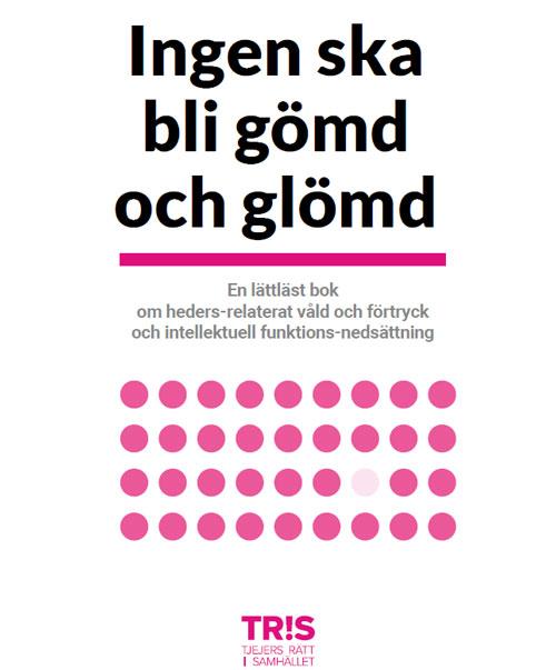 Sveriges första lättlästa bok om hedersrelaterat våld och förtryck bland vuxna personer med intellektuell funktionsnedsättning