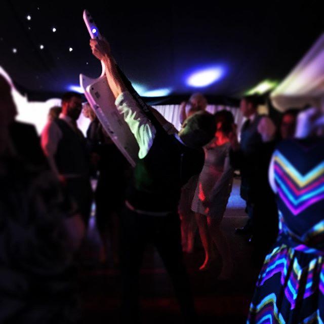 @alainmayson killing it on his keytar!! #band #gig #live #livemusic #cumbria #wedding #weddingband #keytar