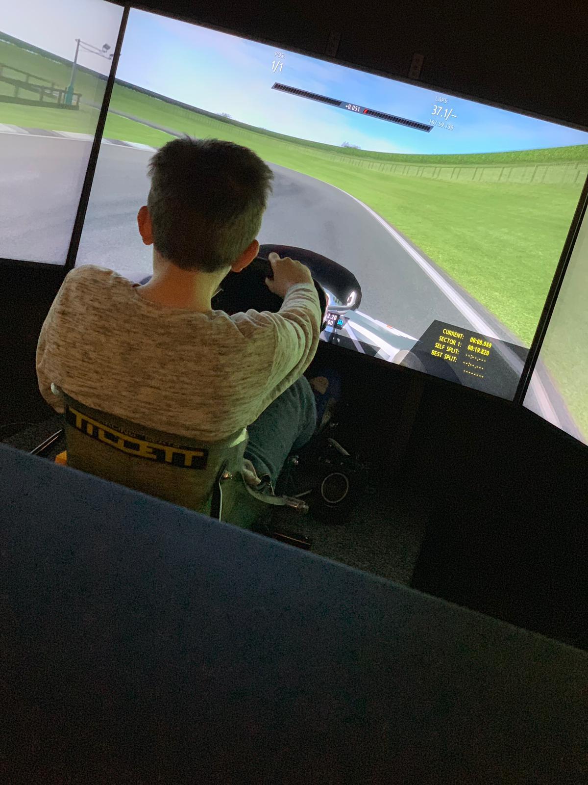 Karting simulation coaching