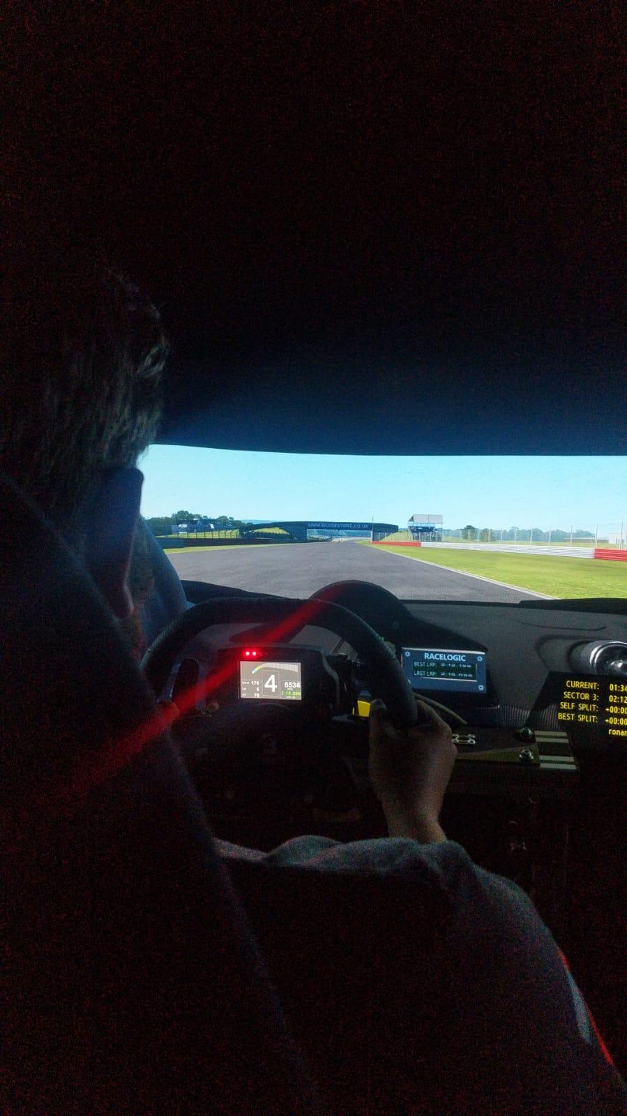 GT car racing simulation coaching