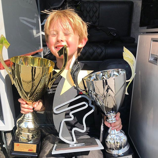 A huge congratulations to Noah Baglin who took a commanding triple win at Rowrah for the @ourmotorsportuk Bambino British Time Trial Championship this weekend along with the Lakeland Challenge! Noah has received our expert trackside coaching and simulation coaching! We look forward to seeing your trophies on Wednesday! 💪🏼🏆🏎💨 #talent #simulation #coaching #karting #triplecrown #360performance #notcoincidence #driver #motorsportuk #motorsport