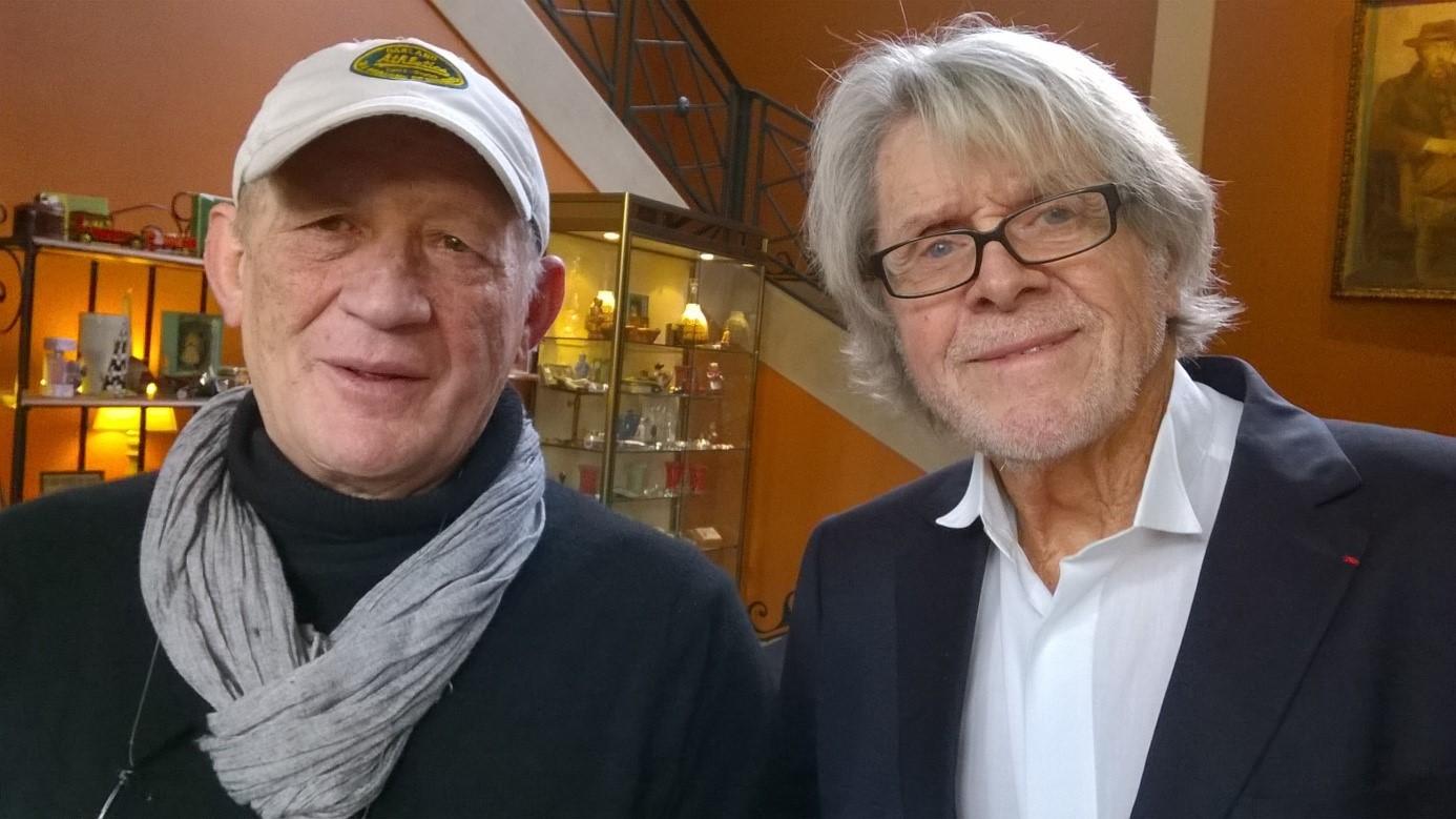 Attilio Maggiùli avec Michel Le Royer