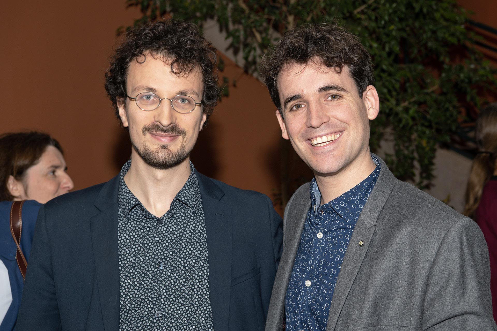 Fabien Touchard et Vincent Lhermet.