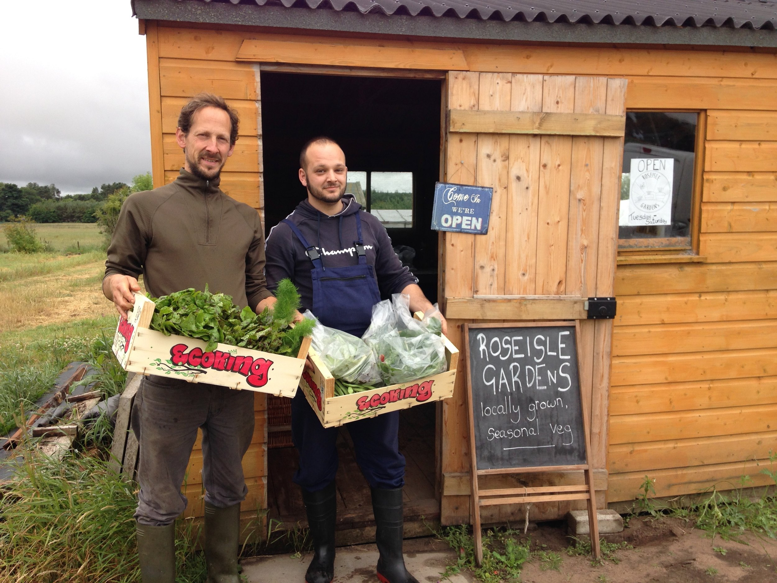 Fresh & tasty food from a choice of local producers