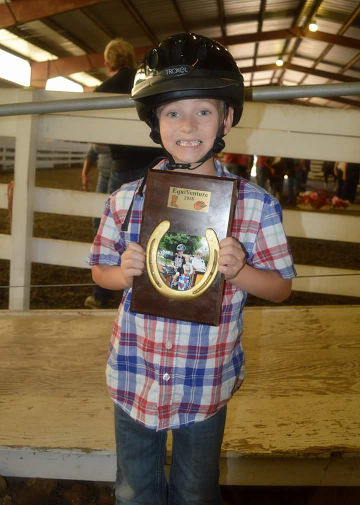Proud much?? - The picture says it all. The look on the riders faces when they get their awards is precious. I have met riders (or their parents) years later who tell us how much the program meant to their child and how it helped in their growth and developement.