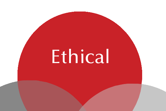 """ETHICAL - """"We say what we mean, and mean what we say""""We are open, honest and reasonable – talk to usPeople matter more – we invest in them and expect the best from them."""