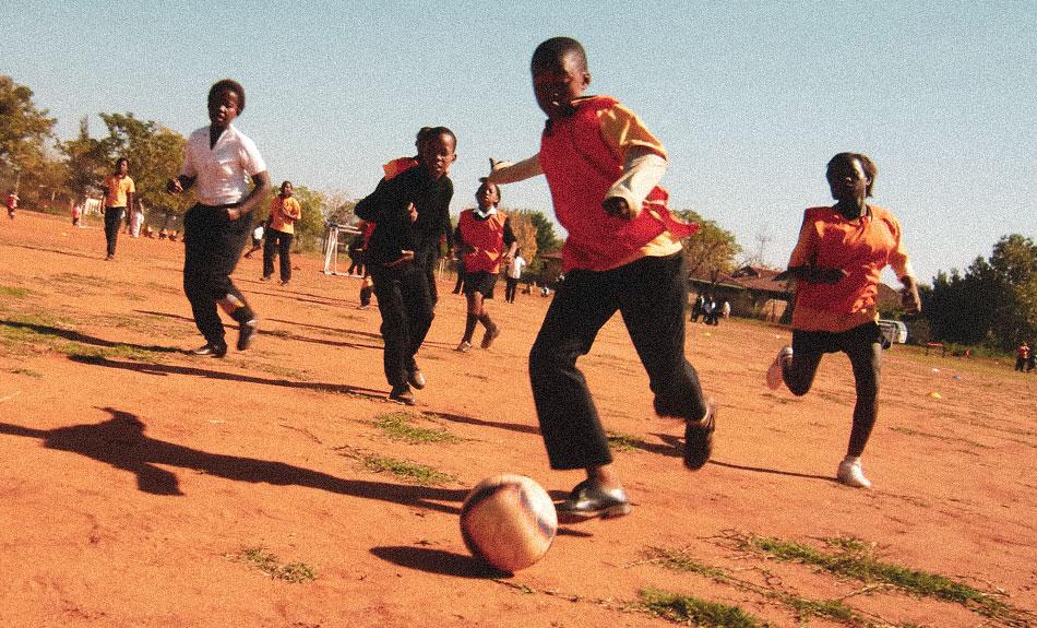 PLAY FOOTBALL FOR LIFE -