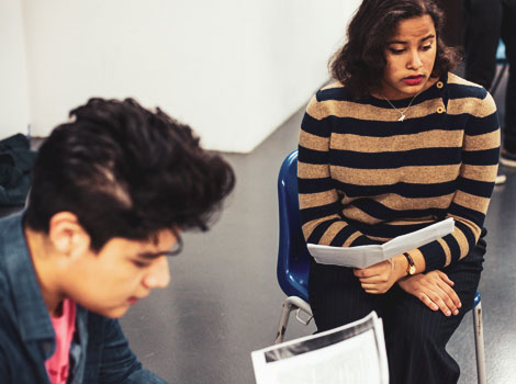 ONE LONDON - A 10-week drama-based programme, providing a creative outlet for young refugees in the UK to come together, tell their story, form new friendships and build their self-esteem and communications skills.Click to find out more…