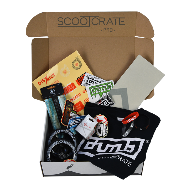 Potential ScootCrate PRO contents!