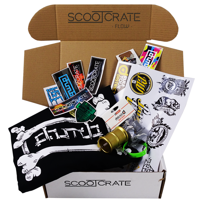 Potential ScootCrate FLOW contents!