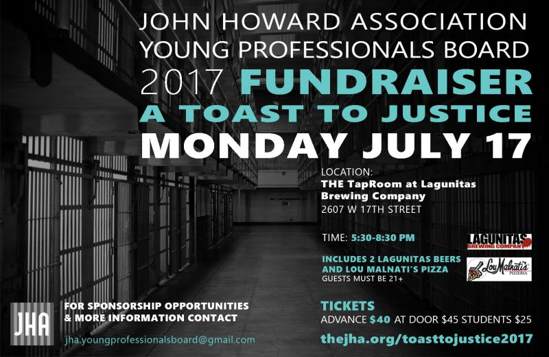 - A Toast to Justice is hosted by the JHA Young Professionals Board.