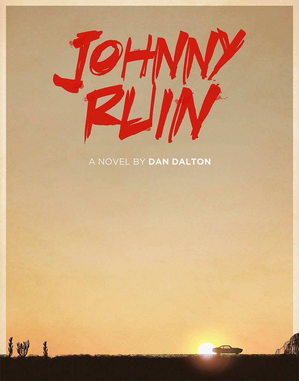 "johnny-ruin :     ""If a tree falls in a forest, and Jon Bon Jovi is with you when it happens, is it still a figment of your imagination?""     Johnny Ruin  is a novel about a guy on a road trip through his own mind with Jon Bon Jovi. Sound good? Donate to the Unbound campaign now, and get this cool minimal poster as a reward:  https://unbound.com/books/johnny-ruin"