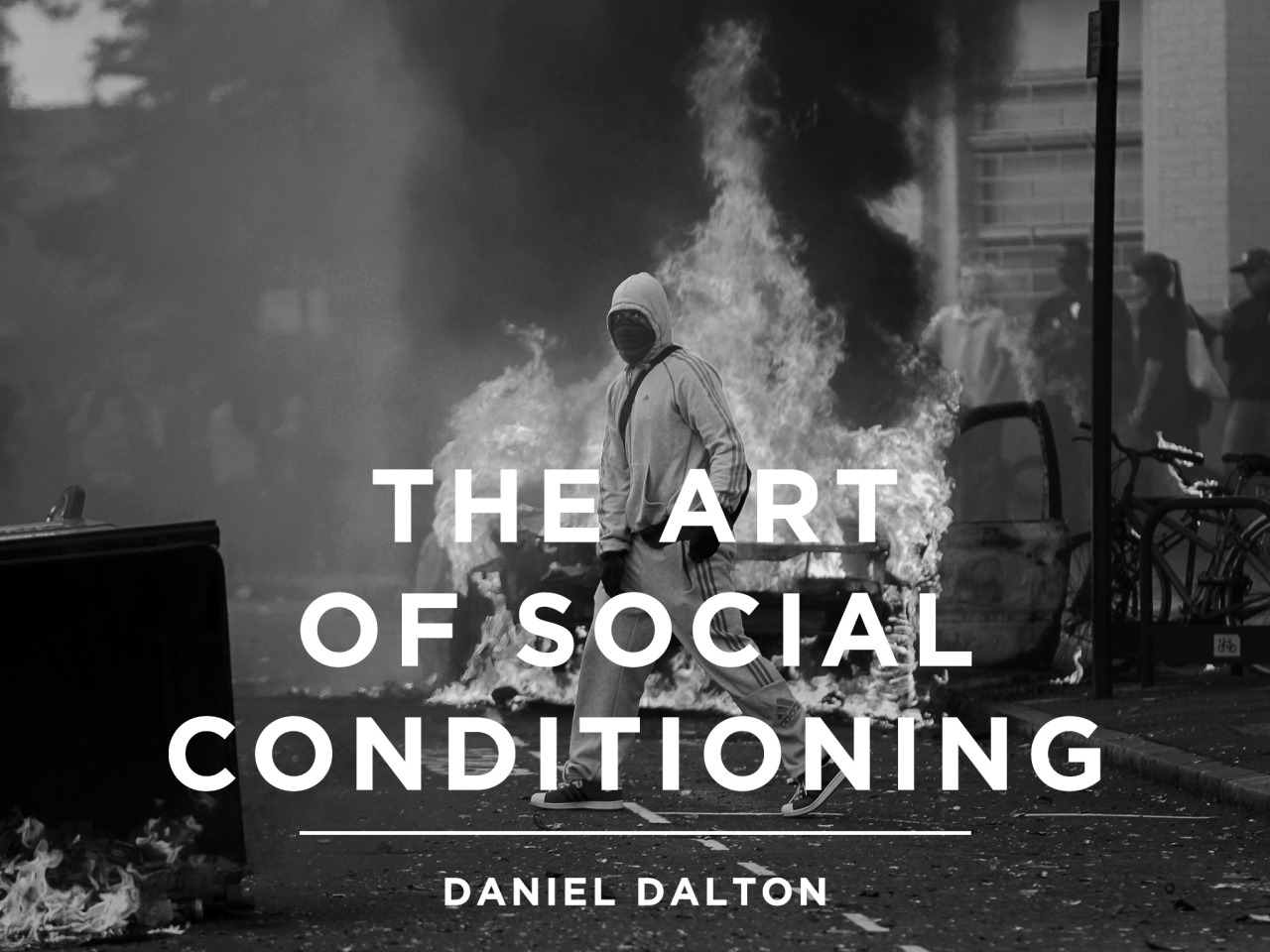 "The Art of Social Conditioning       I ask him the question I've been nursing since we met; why?   He smiles at me again.   ""I know what it feels like to hack systems. I wanted to see if I could hack people.""     Just posted new short fiction,  read it here ."
