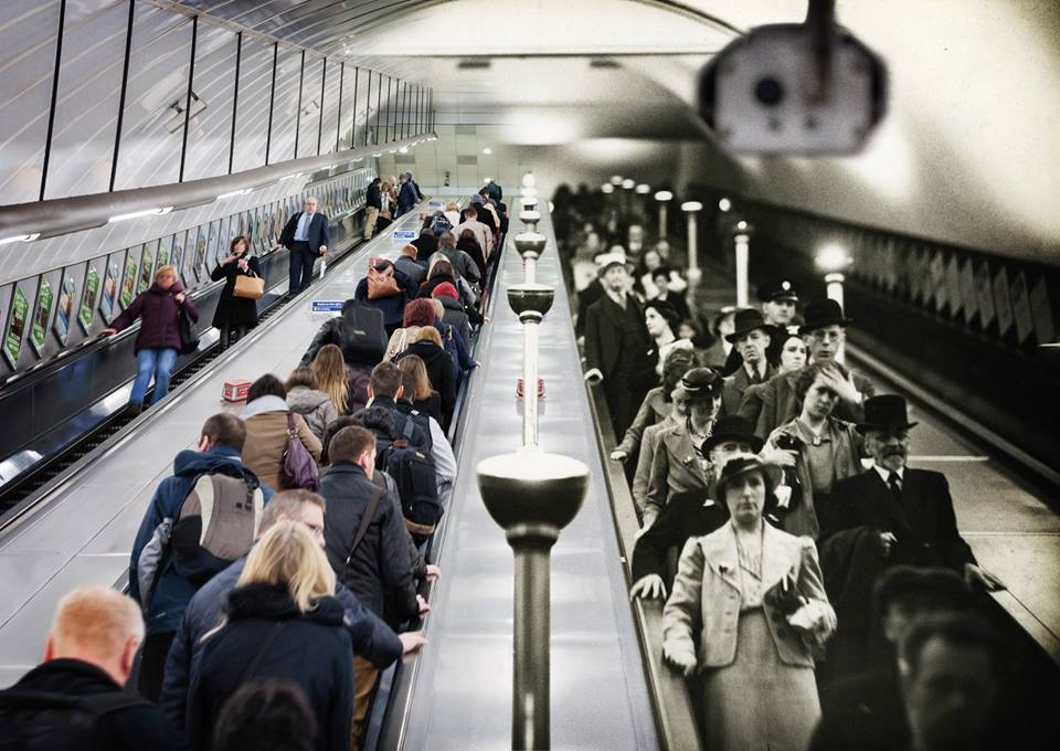 London Underground: Present & Past    ( via )