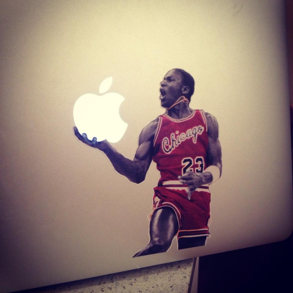 My MacBook Air is now a MacBook Air Jordan…