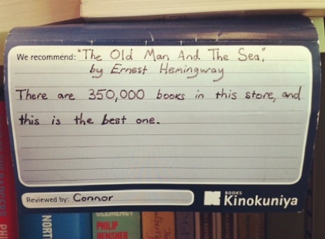 That about sums it up.    Spotted at Kinokuniya, Sydney.   (via  andwcampbell )