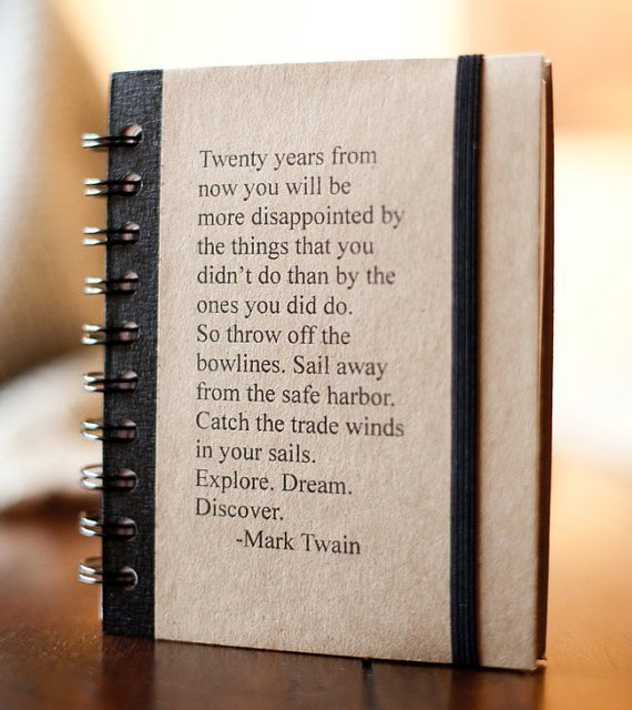 Mark Twain, with your new year's resolution    (via  The Fancy )