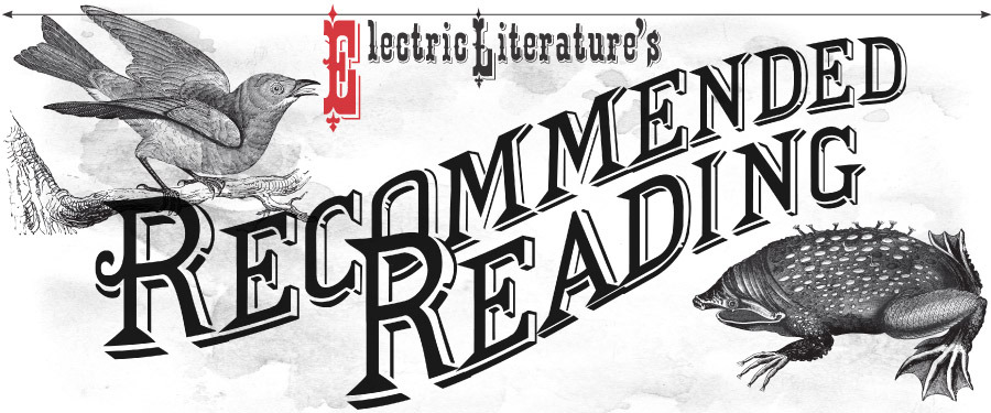 Recommended Reading is here!    I'm proud to say I helped fund the project, which is brough to you by the folks at Electric Literature.   They will publish one new story a week to the  Recommended Reading Tumblr blog , which will also be available as  a free download for the Kindle/iPad .   Here's a little bit of background from their  About  page;      GREAT AUTHORS INSPIRE US.  But what about the stories that inspire them? Recommended Reading, a magazine by   Electric Literature  , publishes one story a week, each chosen by today's best authors or editors.   Recommended Reading is released on a four week curation cycle: beginning with a story chosen by Electric Literature, followed by excerpt from an indie press, then an author recommendation, and finally a selection from a magazine's archive.   Each issue includes an editor's note written by that week's partner, introducing you to the work and their mission.   In this age of distraction, we're uncovering writing that's worth slowing down and spending some time with. And in doing so, we'll giving great writers, literary magazines, and independent presses the recognition (and readership) they deserve.     A fine mission statement I'm sure you'll agree, and an equally fine product. The first story,  Watching Mysteries With My Mother by Ben Marcus  is now live. Take a look.