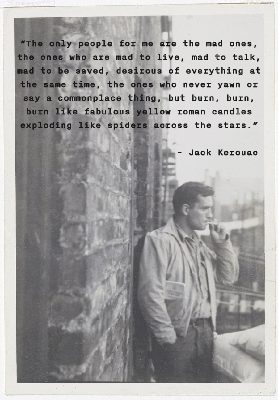 Happy Birthday, Jack Kerouac!    He would have turned 90 today… Rest in peace, Jean-Louis, the spirit of the road lives on.   (Photo by Allen Ginsberg  via )