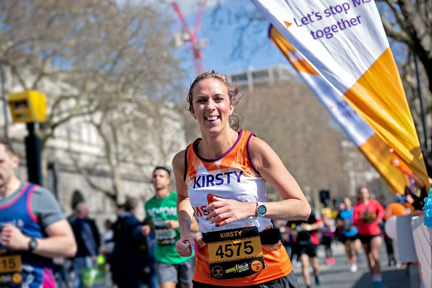 London Landmarks Half Marathon with the MS Society