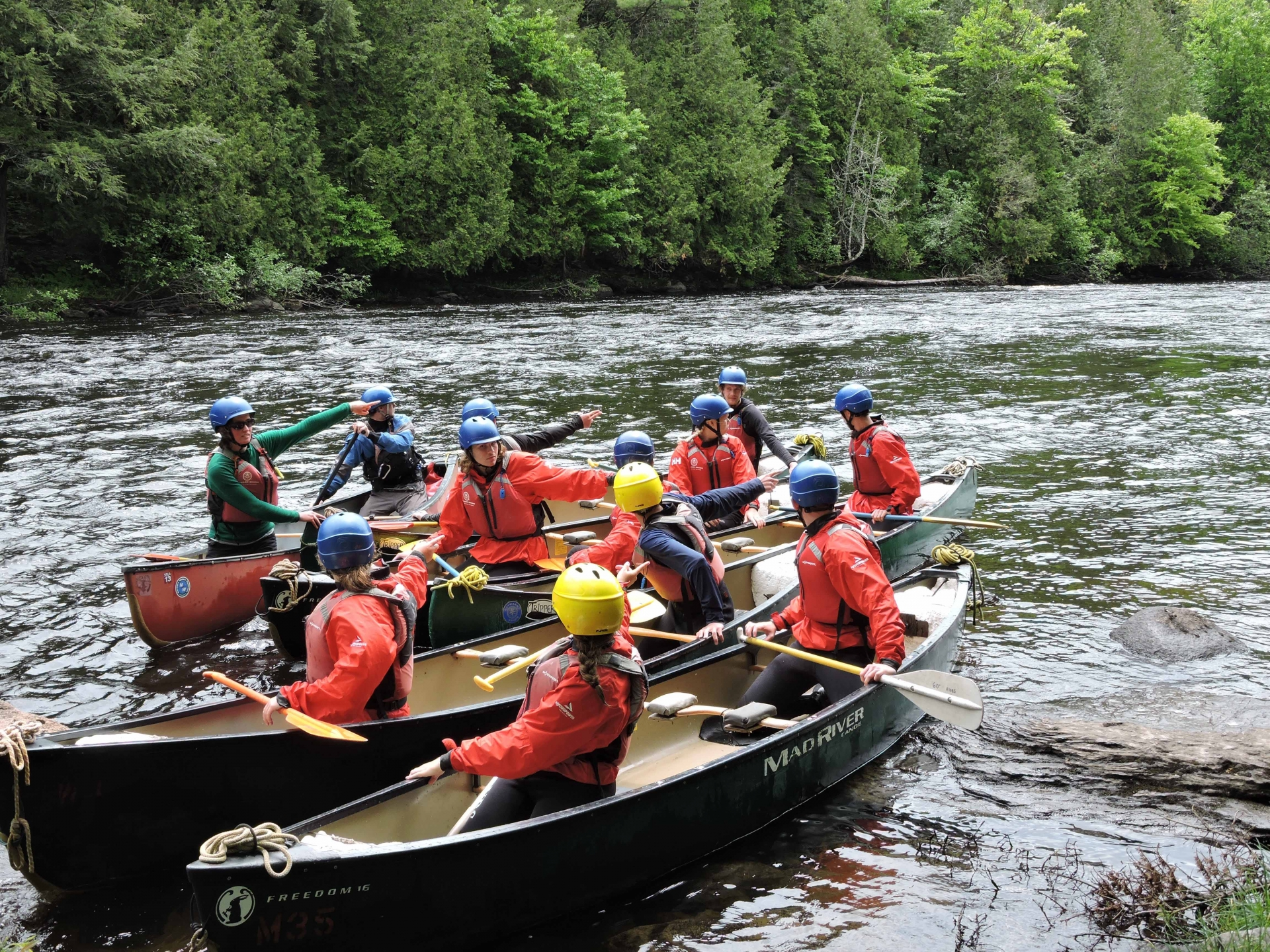 Paddling Whitewater on the Androscoggin