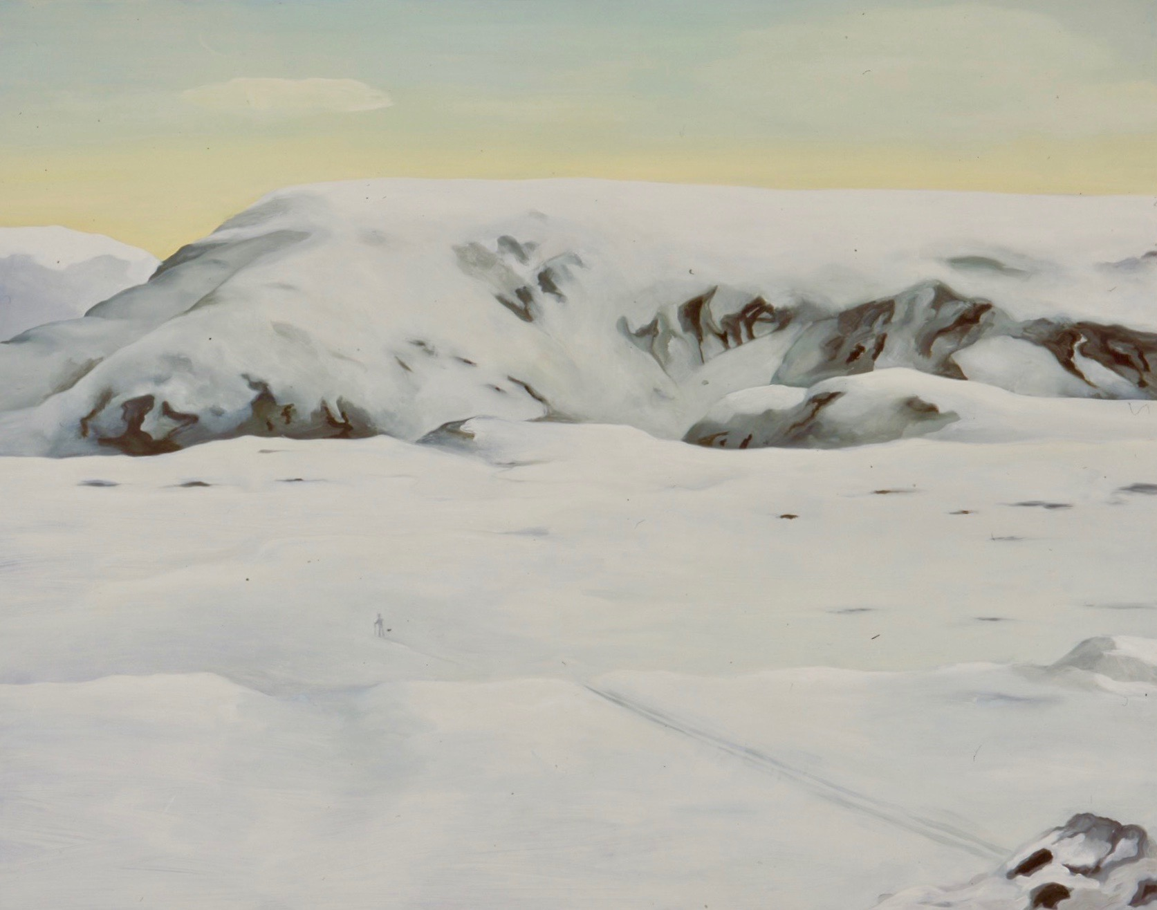 Snøvandrer  90x125cm opl 2005