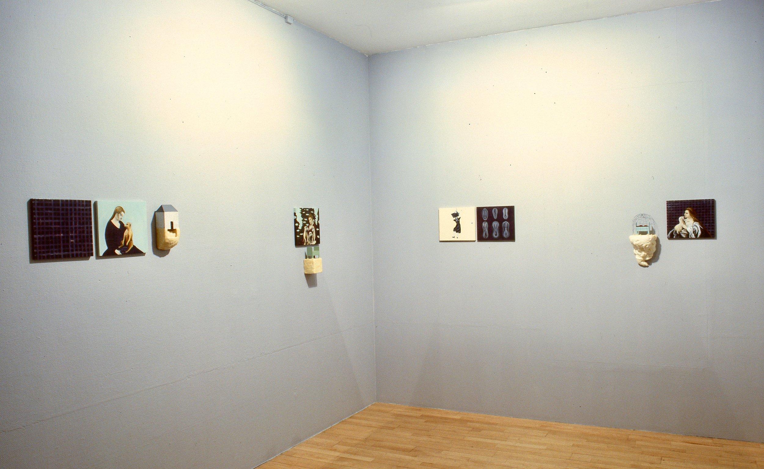 Hjemmet og vi   ;  fra utstillingen galleri riis 1997