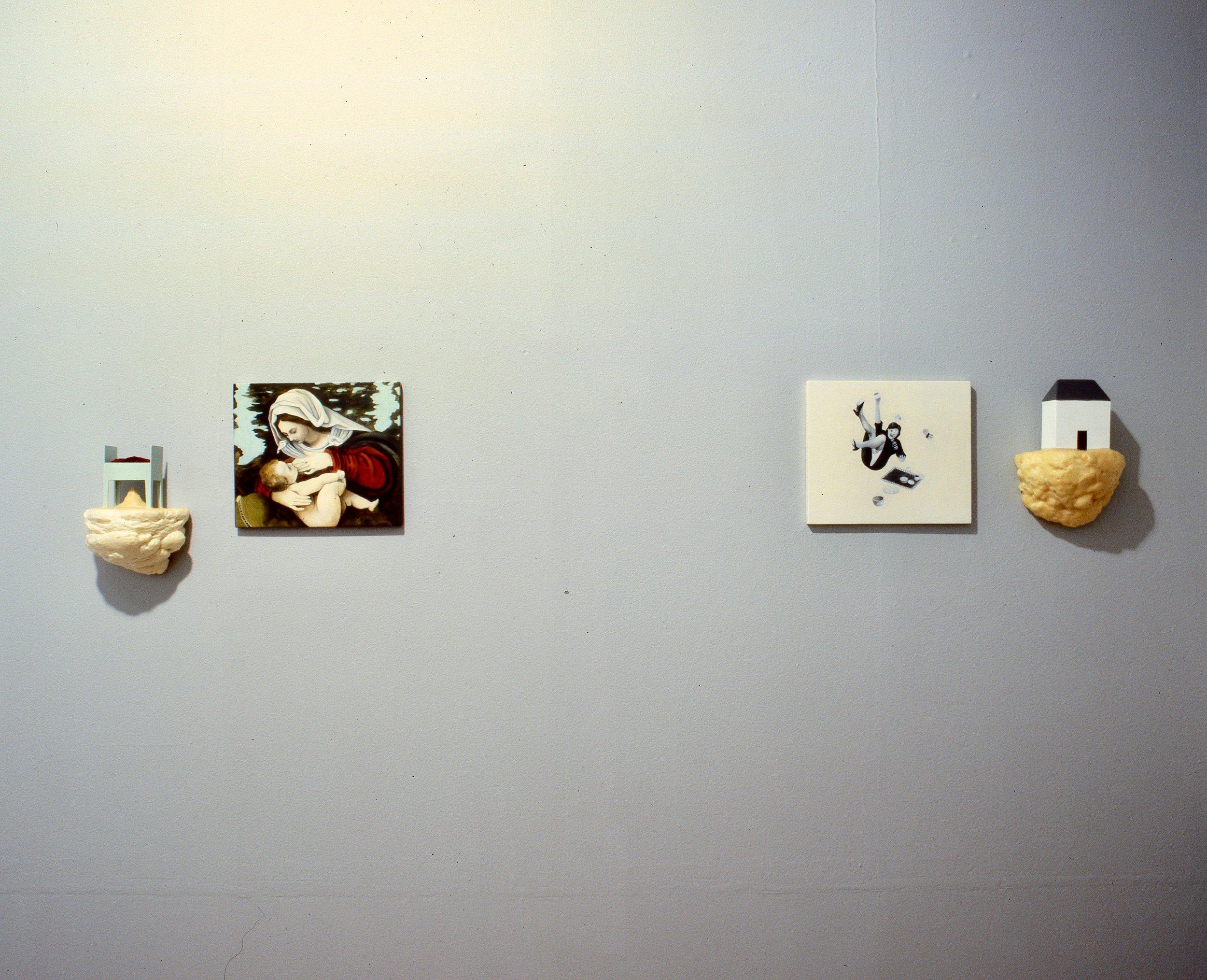 Hjemmet og vi;     fra utstillingen galleri riis 1997
