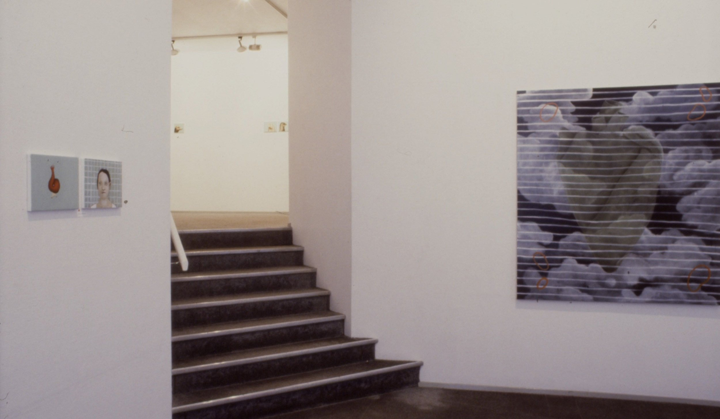 fra utstillingen   Antropomorf      galleri heer 1996