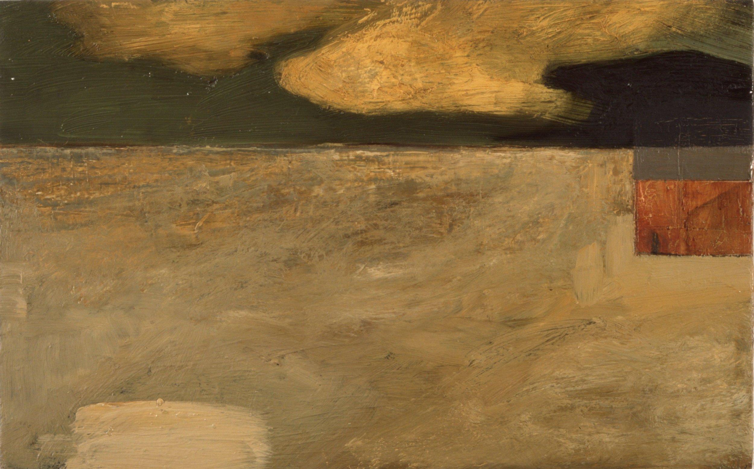 U.T.  24x39 cm olje på plate