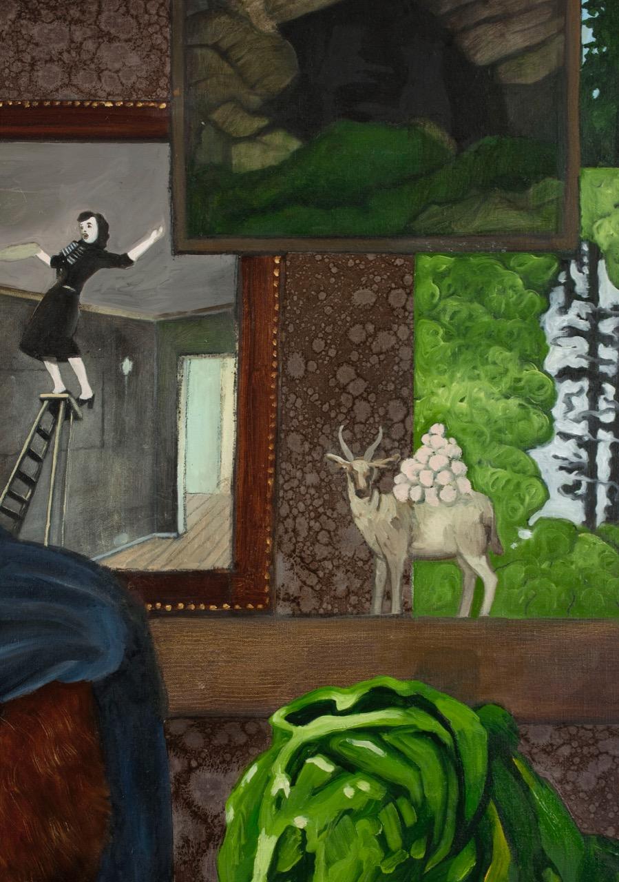 Inne, detalj  165x135 cm opl 2009