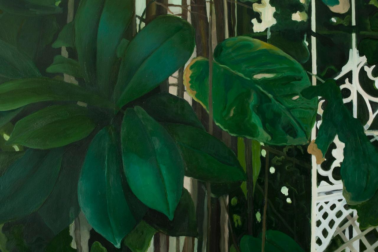 Botanisk I, detalj  165x135cm opl 2009