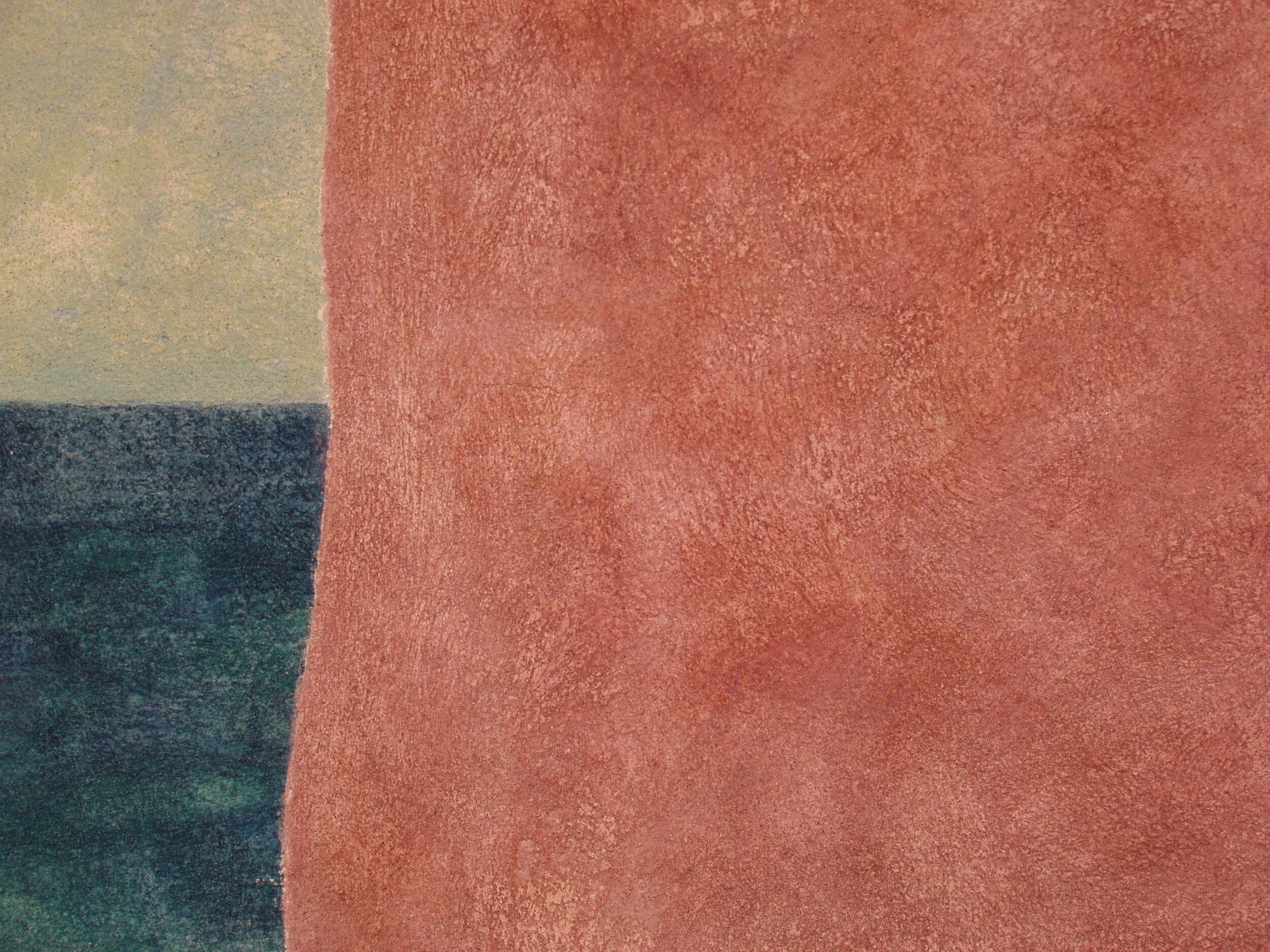 detalj freskovegg