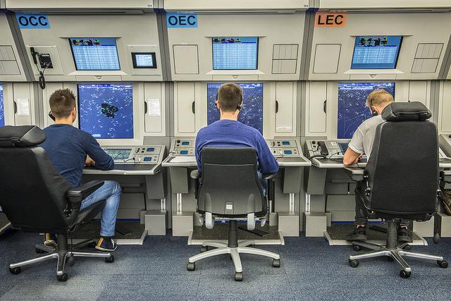 Středisko oblastního řízení v Maastrichtu. © Eurocontrol