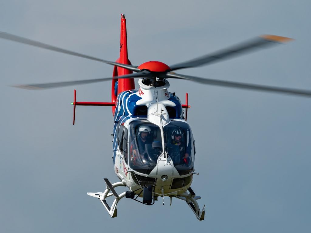 Eurocopter EC135 letecké záchranné služby. © Zdeněk Černý