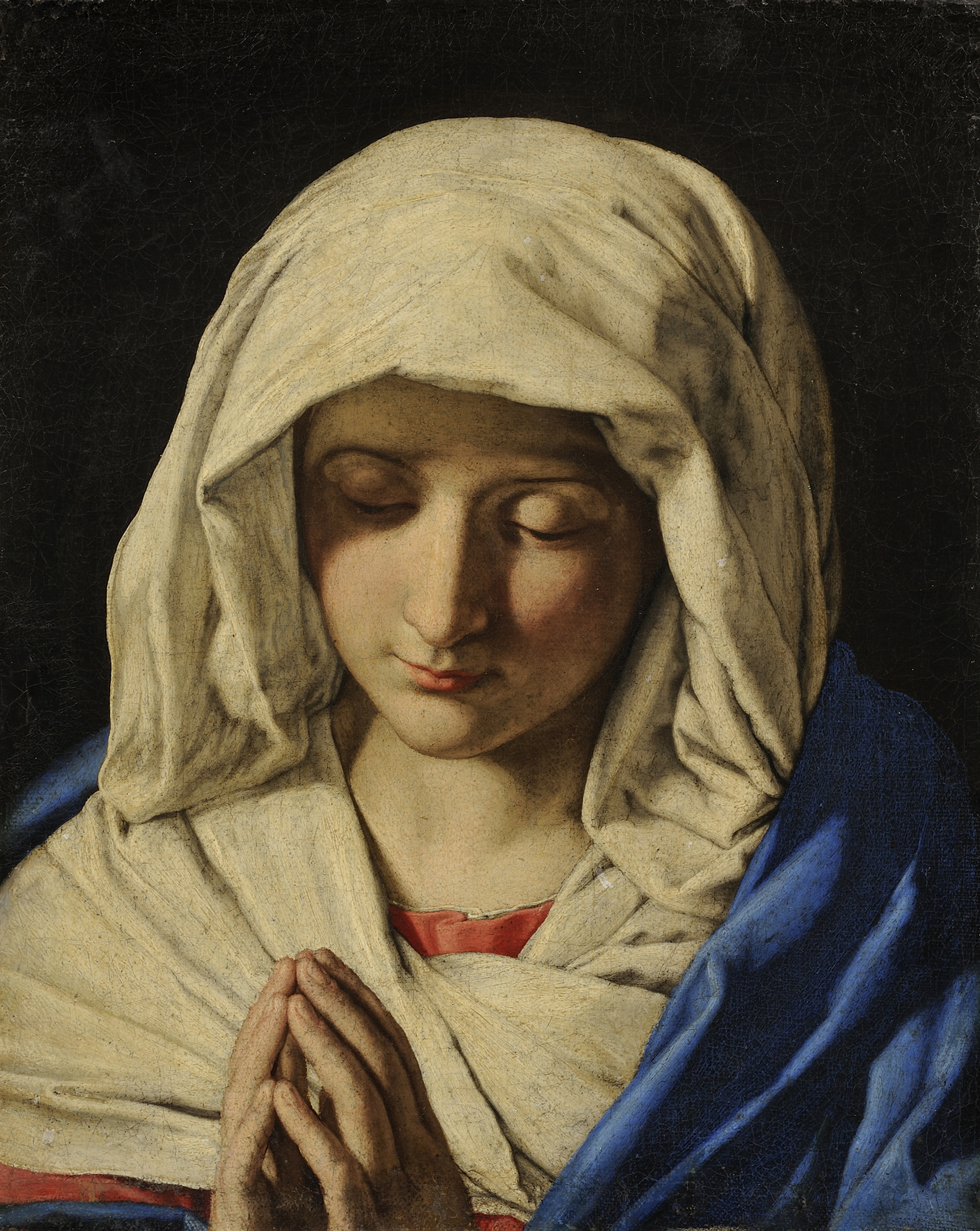 The Virgin at Prayer, Giovanni Battista Salvi da Sassoferrato, c. 1660