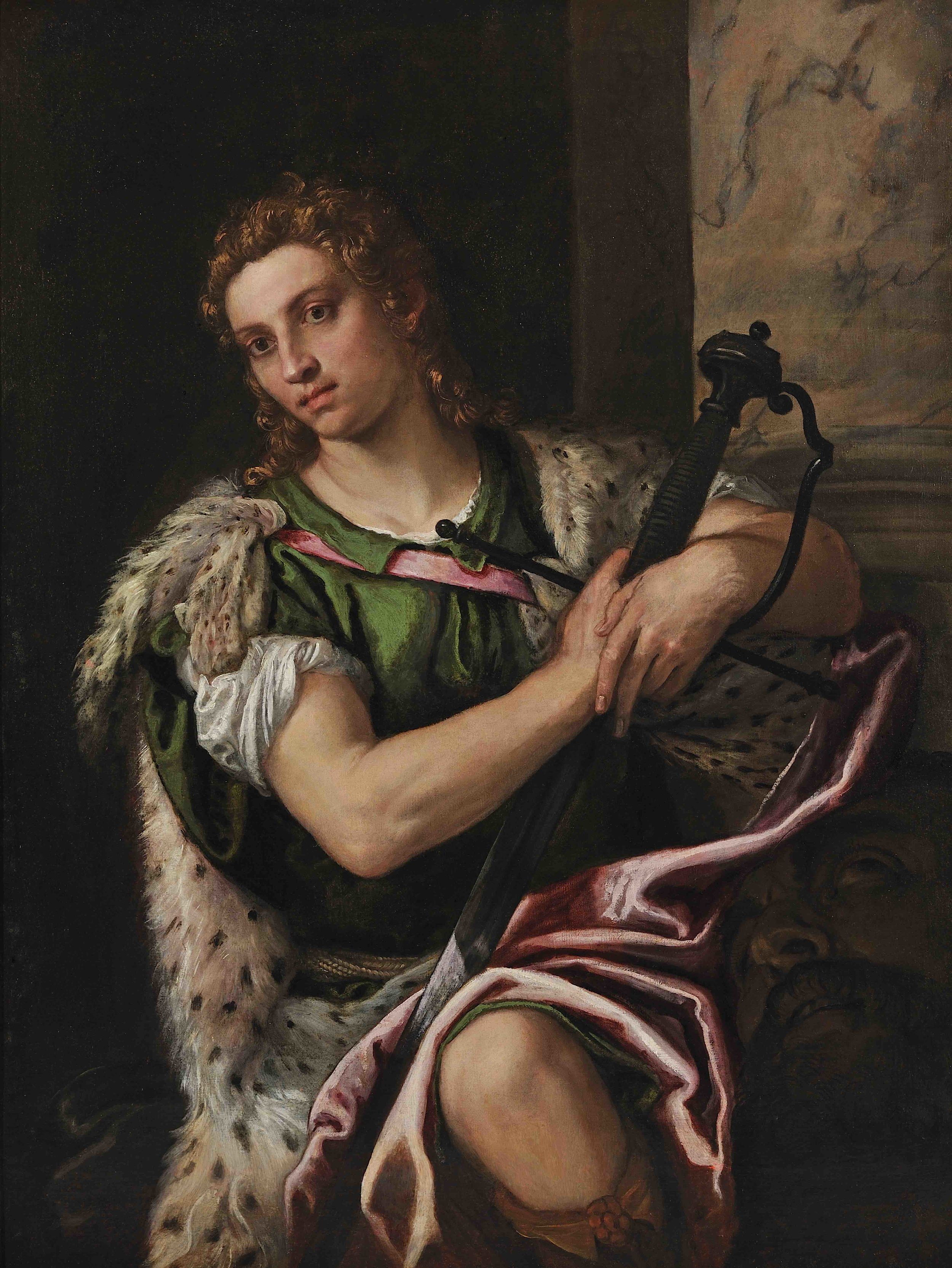 David with the Head of Goliath, Paolo Caliari known as Paolo Veronese, c. 1580