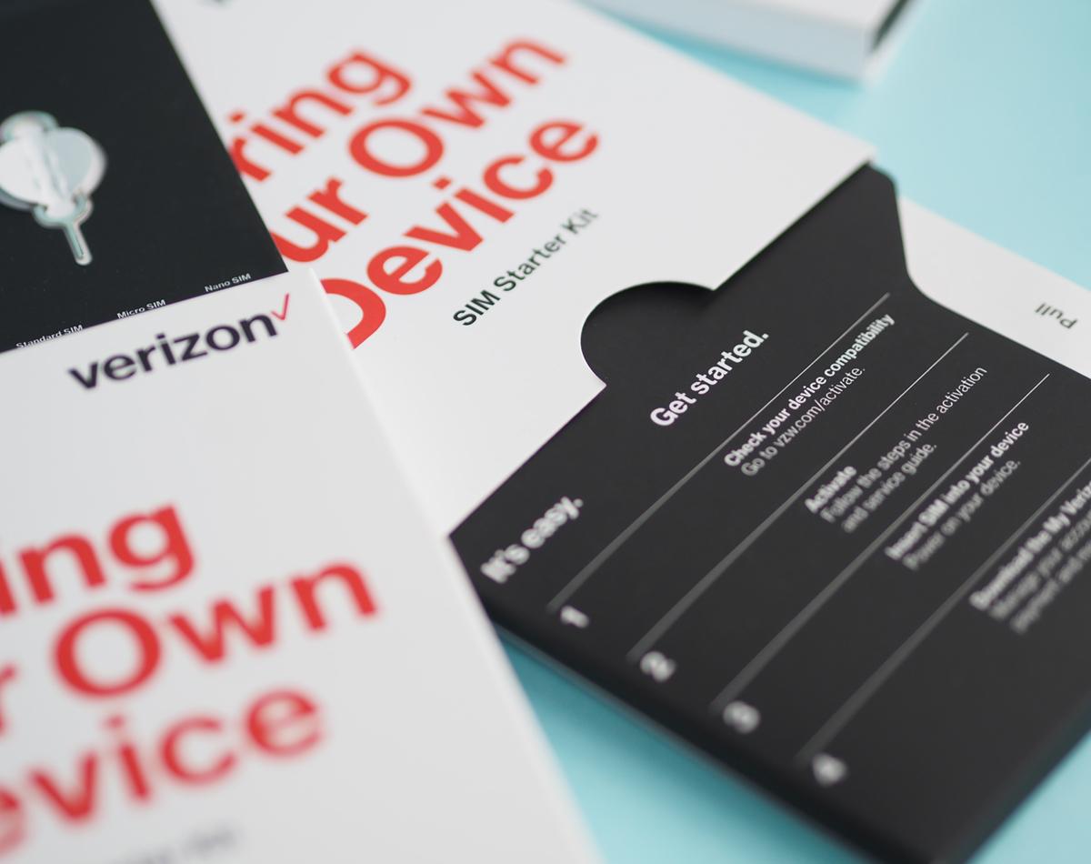 Verizon, Sim Card Pack