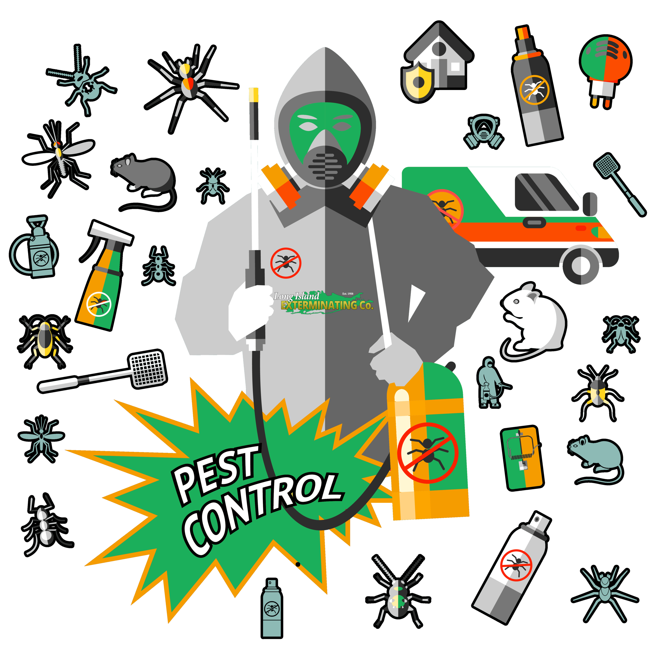 Long Island Exterminator Local in Huntington, NY — Long Island Exterminator  : Pest Control & Wildlife Removal | NYC