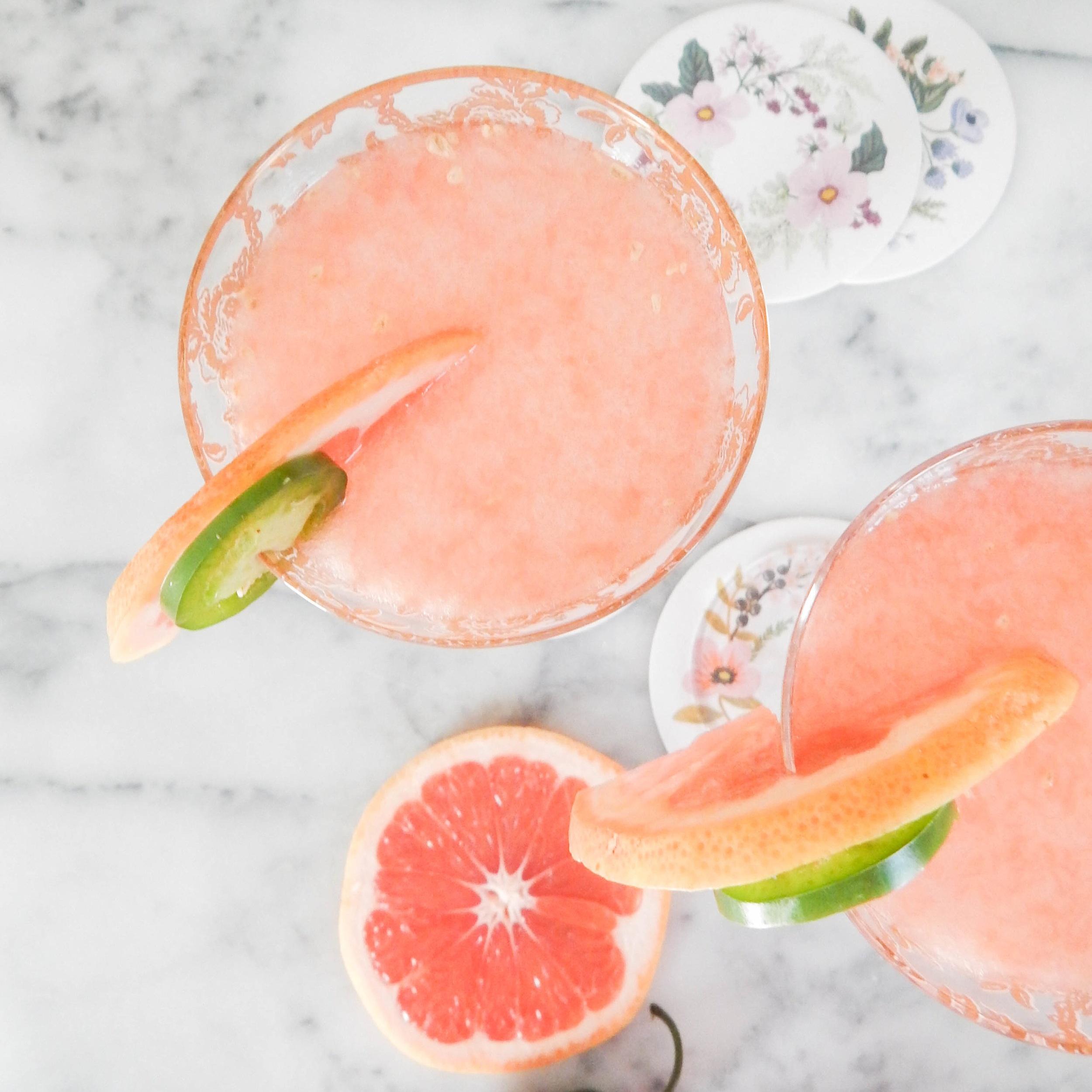 Pink Cocktails Frozen Cocktails