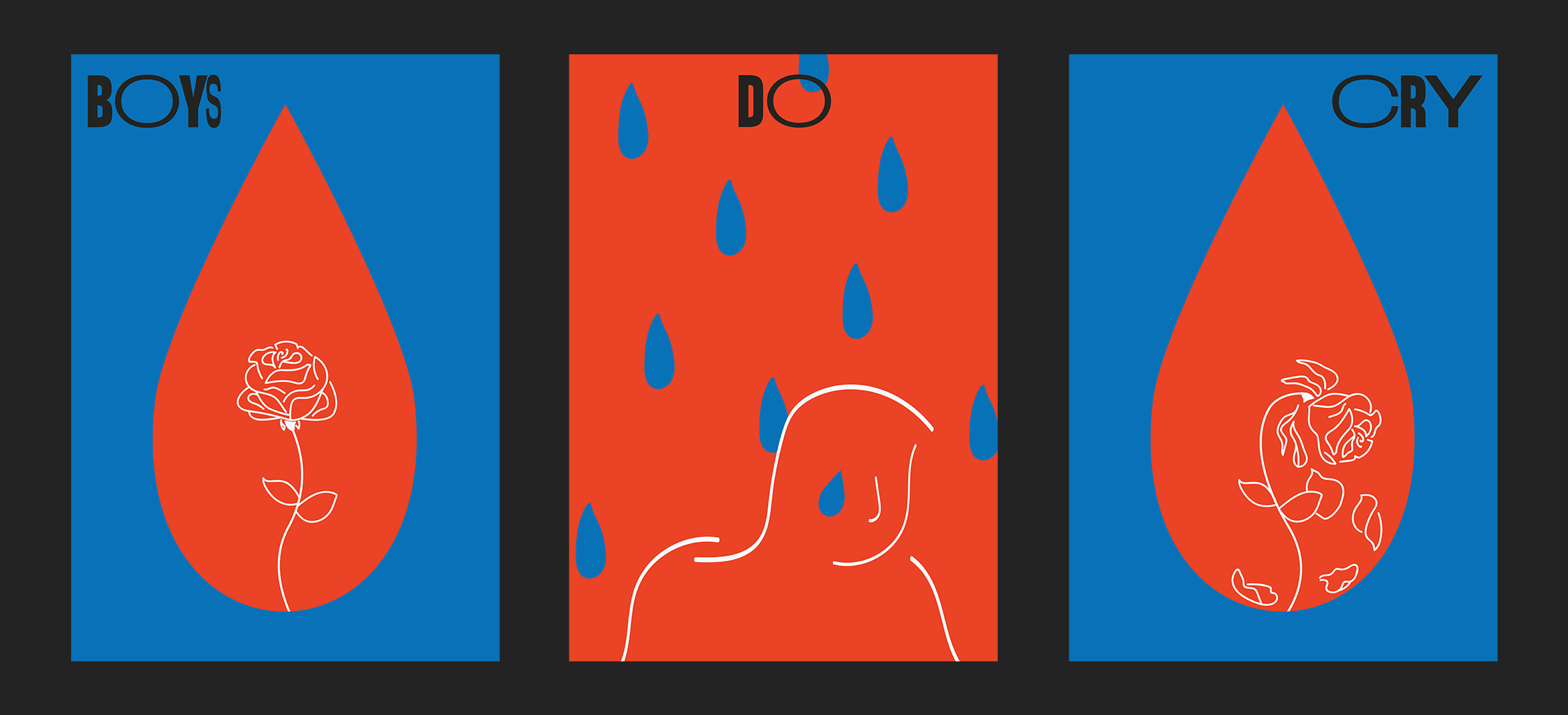 Boys Do Cry Poster Series
