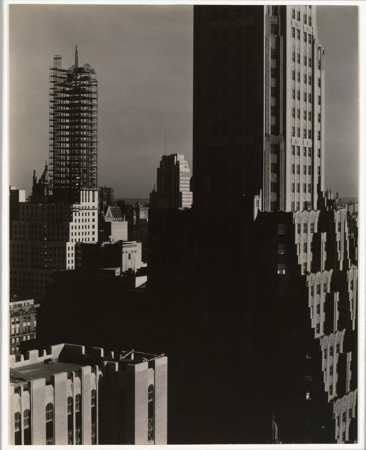 From My Window at the Shelton, North - Alfred Stieglitz     Source