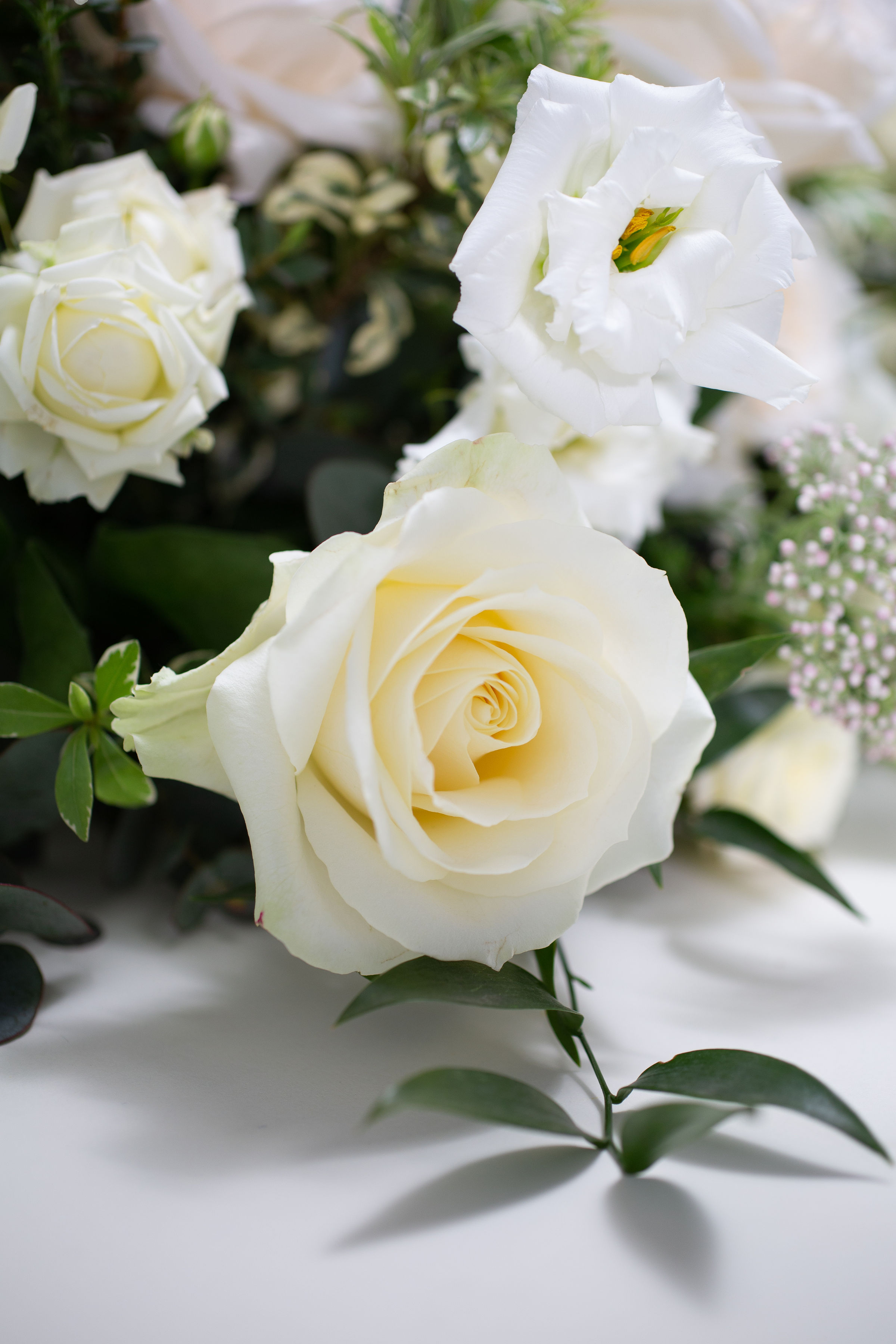 BRIDESMAIDS & FLOWER GIRLS -