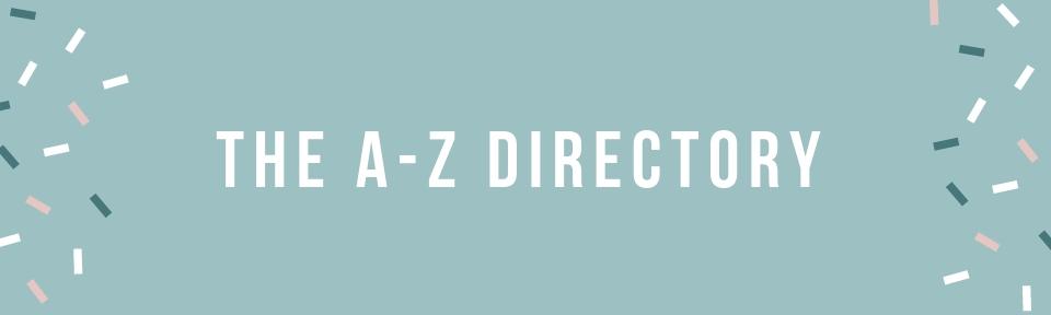 the a-z directory, where to print wedding invitations, print vendors, production vendors, drop shipping vendors, list of vendors